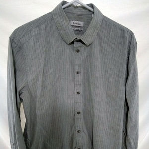 Calvin Klein Extreme Slin Fit Dress LS Shirt